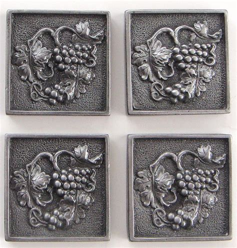 2x2 Metal Accent Tiles by In Stock Tile Murals And Mosaic And Metal Accent And