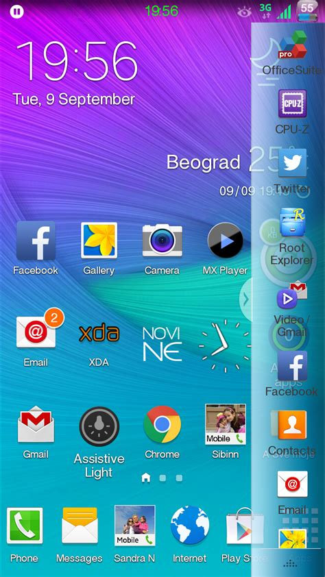 themes in galaxy note edge theme multi window themes edge theme samsung galaxy