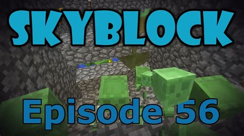 Slime Farm Tutorial Skyblock | minecraft skyblock 56 slime farm youtube