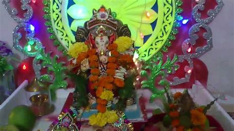 home decoration of ganesh festival ganesh festival home decoration mumbai