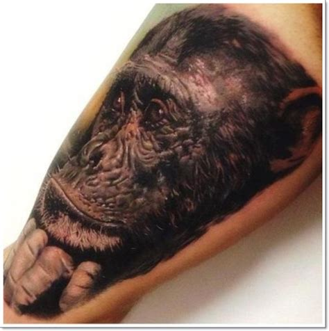ape tattoo 30 cool and monkey designs