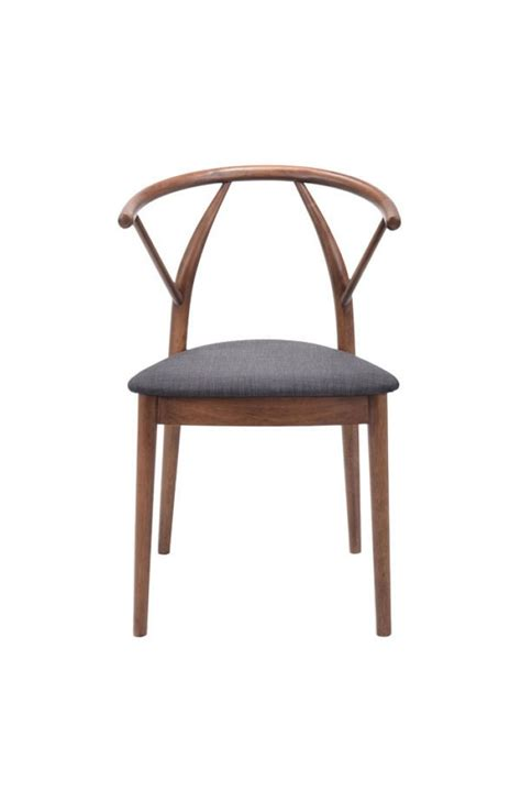 zuo communion dining chair espresso beyond stores