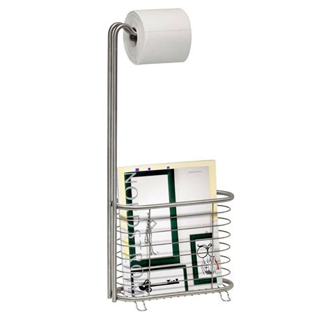 toilet paper rack toilet paper magazine stand stainless steel in bathroom