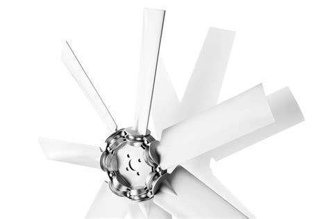 multi wing fan blades axial fans z series multi wing