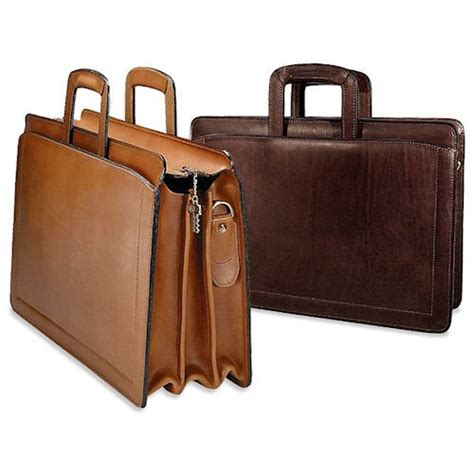 georges belting travel leather briefcase 9002