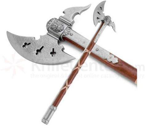 German Kitchen Knives Brands classic medieval battle axe knifecenter ar22636