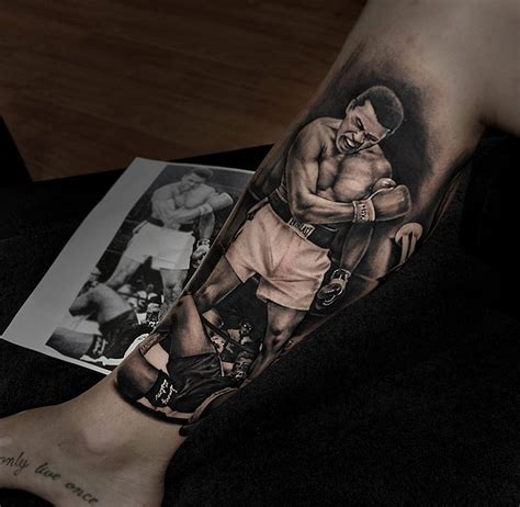 tattoo muhammad ali the one and only mohammed ali by benjamin laukis