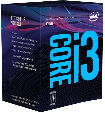 Intel I3 8100 Box Socket 1151 Generation Coffe Lake intel i3 8100 3 6ghz coffee lake cpu