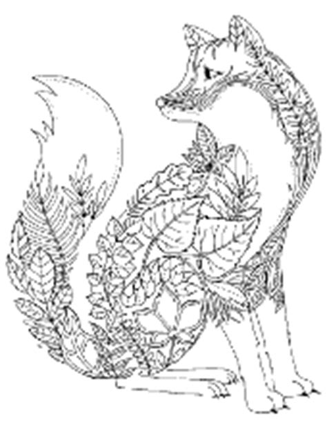 coloring pages for adults fox printable coloring pages for adults books mandalas