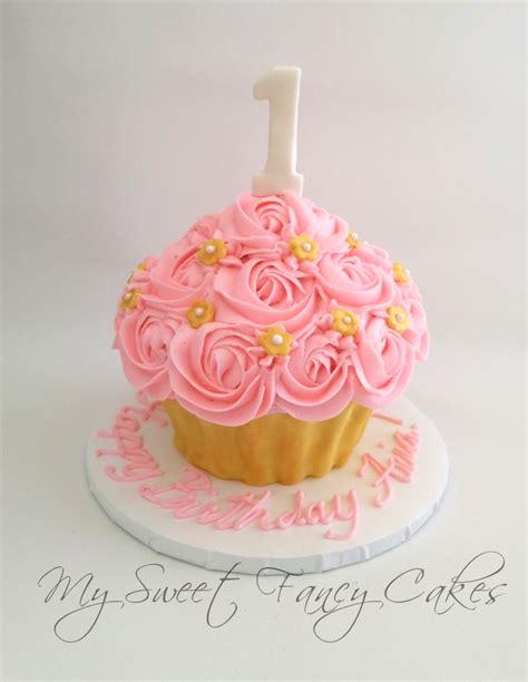 Cupcake Birthday Cake by My Sweet Fancy Cakes Cupcake Smash Cake Skylar S