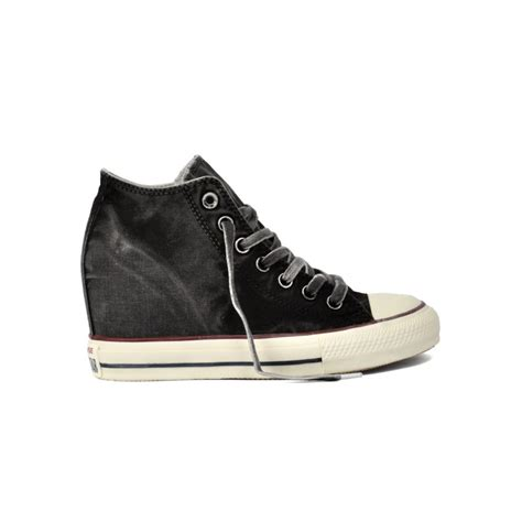 converse all zeppa interna converse all 547193c sneaker mid con zeppa interna