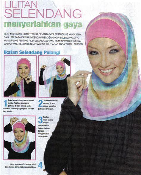 Kerudung Segi Empat Glitter cara memakai jilbab muslimah cara memakai jilbab modern