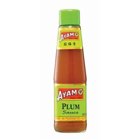 plum sauce 210ml x 6