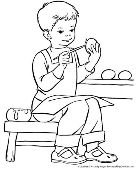 boy easter egg coloring pages 137 best images about coloring easter halloween on