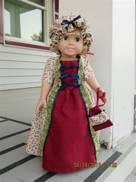historical pattern review mccall s 3627 historical dress for 18 quot doll