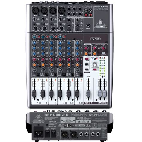 Mixer Xenyx 1204 Usb behringer xenyx 1204usb 12 channel mixer with usb audio
