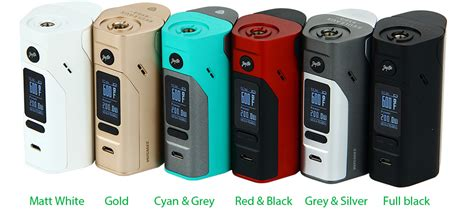 Wismec Reuleaux Rx2 3 Tv 150w 200w Variable Voltage Wattage Box Mod wismec reuleaux rx2 3 mod kit w o battery