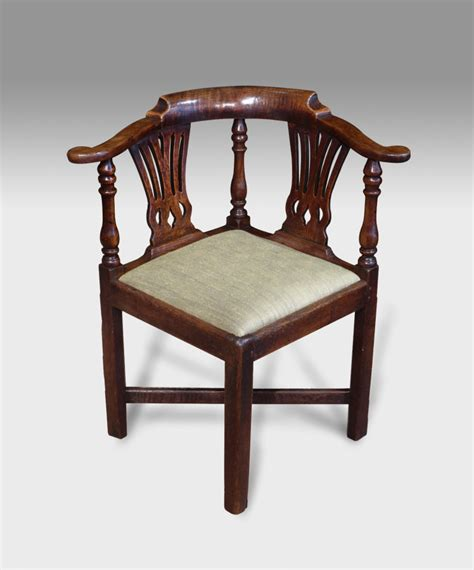 Corner Armchair by Antique Corner Chair Oak Corner Chair Georgian Corner