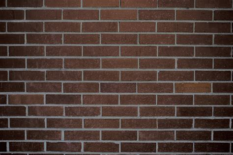 dark brick wall dark brown brick wall texture picture free photograph