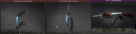 case hardened pattern blue gem rarest cs go skins case hardened blue gems