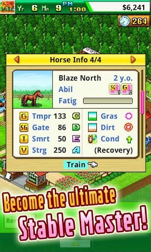 new game kairosoft continues to churn out retro gaming kairosoft s new horse racing sim pocket stables has