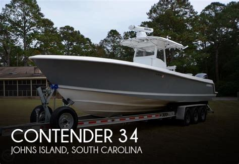 contender boats dealer portal for sale used 2009 contender 34 in johns island south