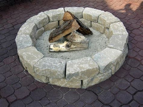 How To Build A Backyard Firepit How To Make A Backyard Pit Corner