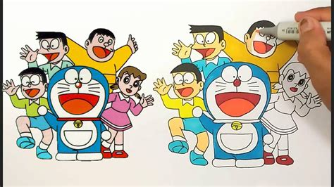 Dsdr16 Dress Doraemon And Friends doraemon and friends and family photos for drawing easy