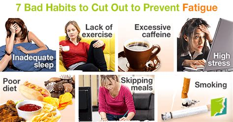 7 Bad Habits That Affect Your Skin by 7 Bad Habits To Cut Out To Prevent Fatigue