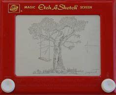 etch swing etch a sketch on pinterest sketch art american gothic