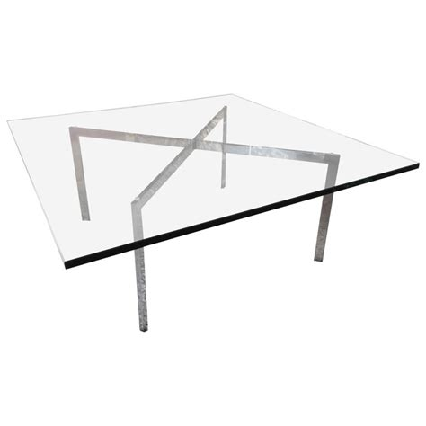 Mies Van Der Rohe For Knoll Barcelona X Base Coffee Table Mies Der Rohe Coffee Table