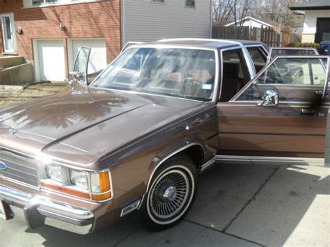 automotive air conditioning repair 1985 ford ltd engine control purchase used 1989 ford ltd crown victoria lx sedan 4 door 5 0l in broadview illinois united