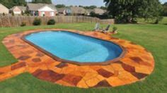 where to put a pool in your backyard 1000 ideas about best above ground pool on pinterest above ground pool ground
