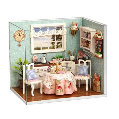 dolls house kitchen furniture get cheap dollhouse kitchen furniture aliexpress