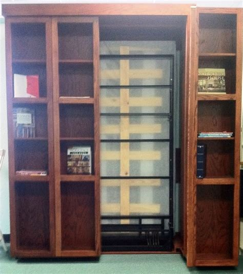 bookshelf murphy bed bookshelf murphy bed with one side open traditional home office other metro by