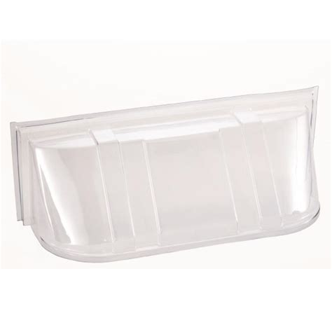 plastic window well covers shop shape products 42 in x 14 in x 15 in plastic window