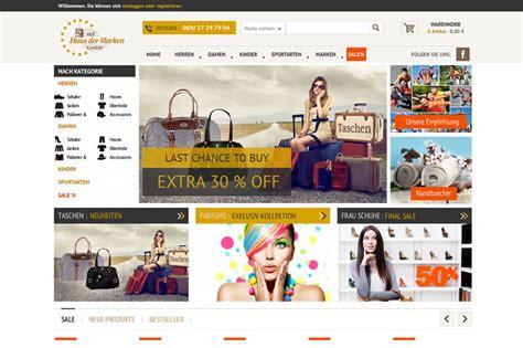 haus der marken haus der marken ecommerce website design