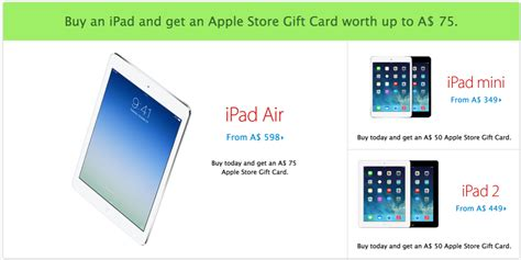 Discount Apple Store Gift Cards - apple launches black friday sale in australia