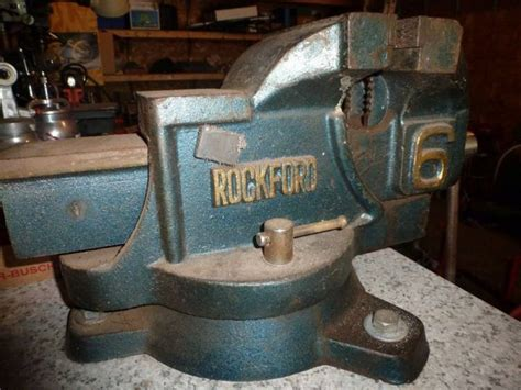large bench vice rockford heavy duty 6 quot bench vise