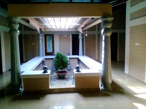 Home Plans With Courtyards by Interior Designing Done In Kerala Style Interior