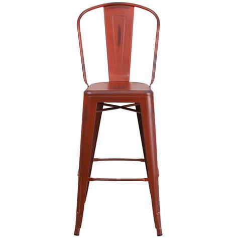 Large Seat Bar Stools tractor antique weathered tolix bar stool large seat