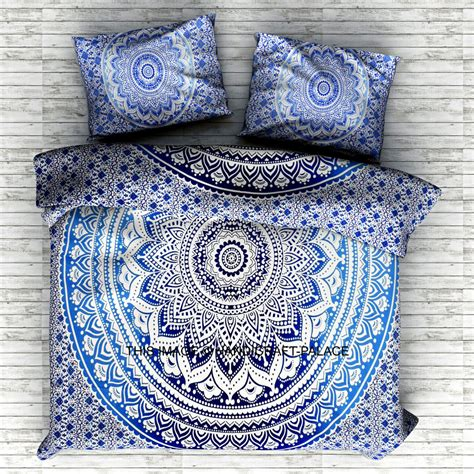 hippie bedding indian size bedding set tapestry hippie bohemian mandala bedspreads throw ebay