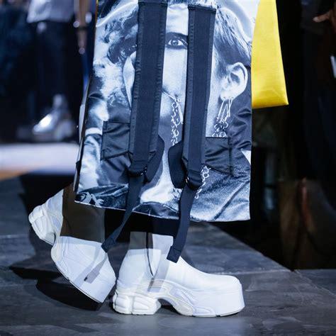 raf simons shows platform adidas boots for 2018