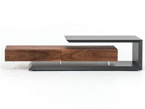 moderne tv lowboards tv lowboard aus walnuss link by cattelan italia design