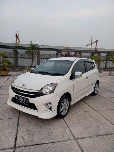 Toyota Agya Trd Matic Abu2 by Toyota Agya Trd Sportivo Matic 2014 Putih Tgn 1 Dari Baru