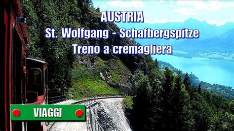 treno a cremagliera austria st wolfgang schafbergspitze treno a