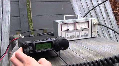 diamond xn antenna test youtube