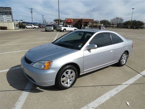 honda civic 2003 2 door coupe find used 2003 honda civic ex coupe 2 door 1 7 liter vtec in stephenville united states