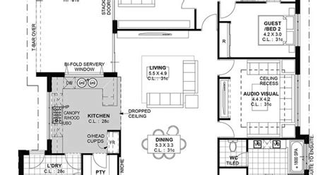 House Plans With Kitchen In Middle the californian aveling luxury has walk through bathrooms house plans and ideas