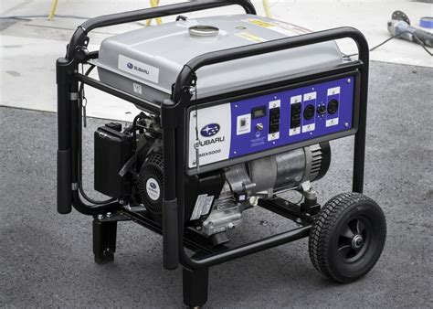 commercial generators photos and subaru